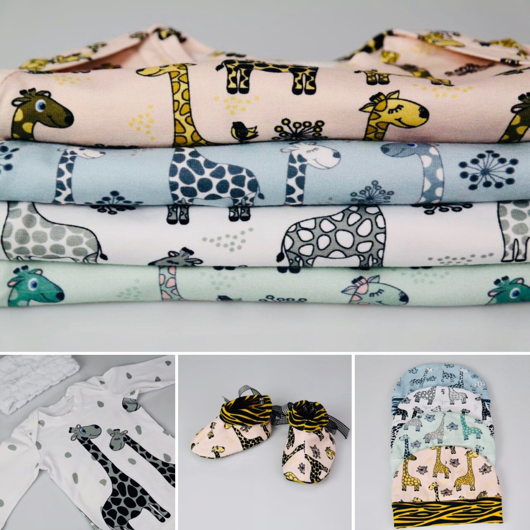 new fabrics with Giraffe prints on it you like them ?